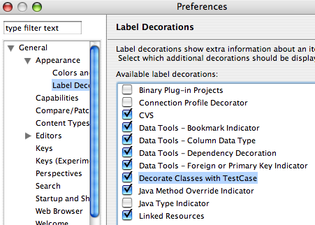 Decoration preferences